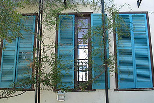 A Taste Of The Mediterranean With Window Shutters