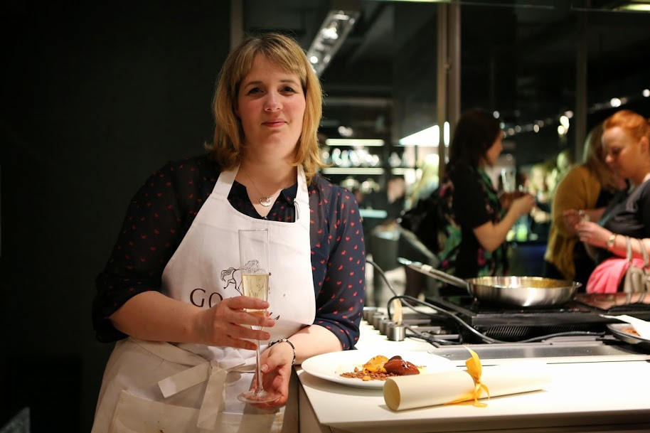 Heather Bennett, Winner of the Godiva Chocolate Challenge 2014