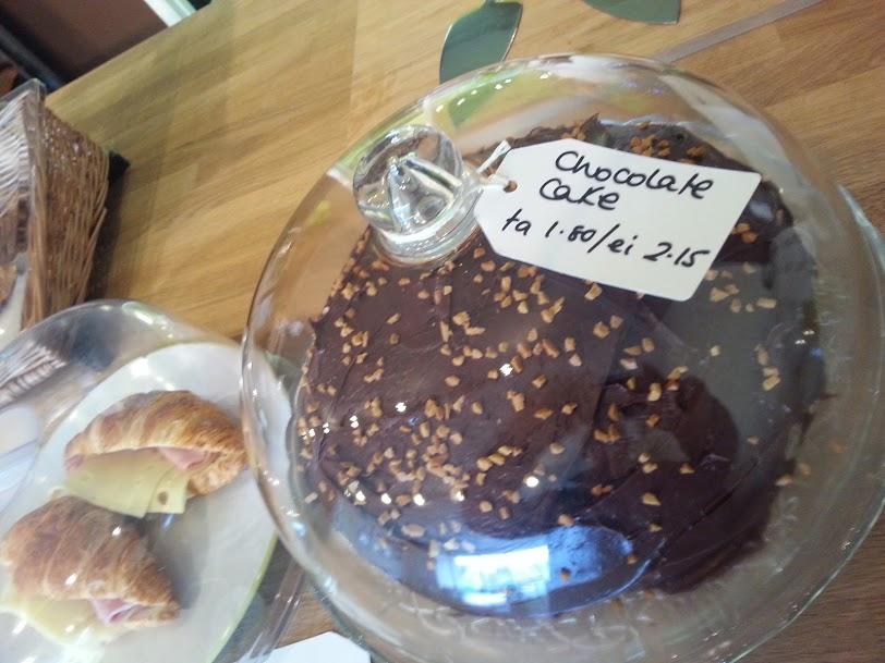 The Good Bean - Corby  - Chocolate Cake Handmade