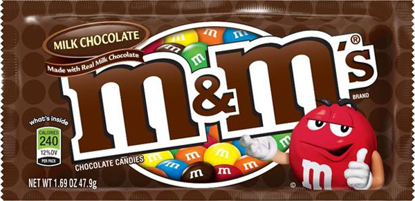Chocolate M&M's