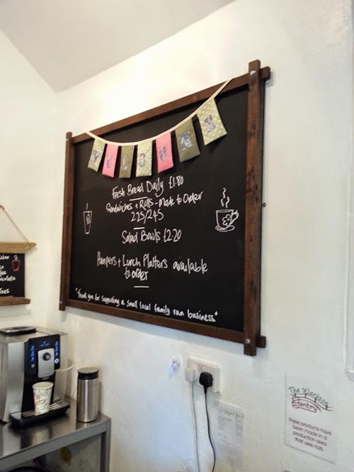 The Warkton Pantry Menu