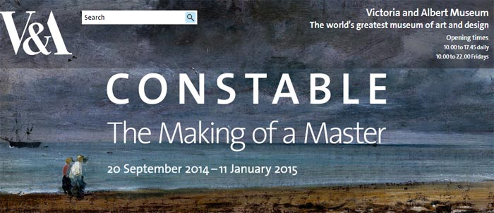 John Constable Exhibition : 'Constable – The Making of a Master.'