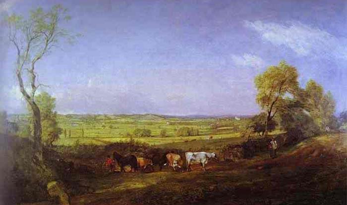 John Constable Morning in Dedham Vale