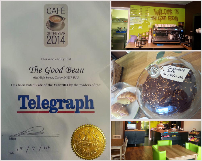 Northants 2014, Cafe of the Year: The Good Bean