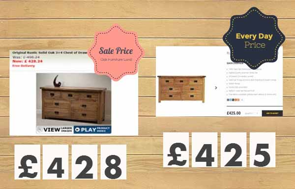 Oak Furniture Best Price