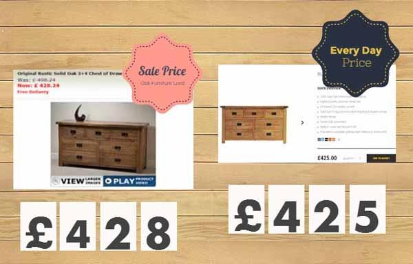 Oak Furniture Best Price