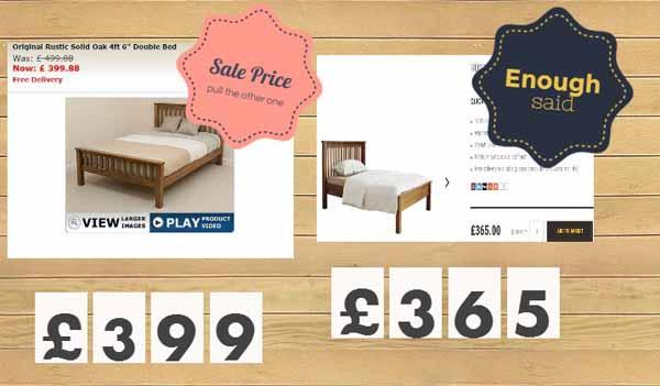 Oak Furniture Better then a Sale