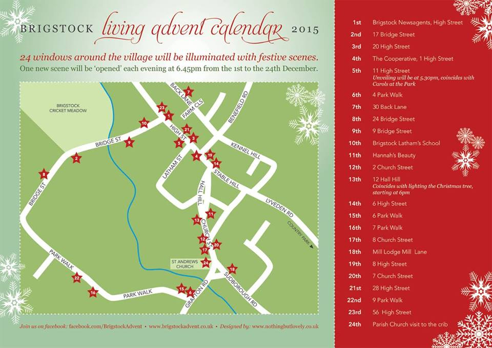 Brigstock Living Advent Calendar
