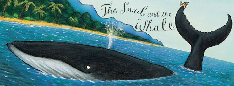The Snail and the Whale - Corby Cube