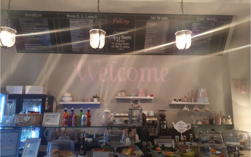 The Pantry : Coffee, Cakes, Treats and More in Corby