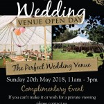 Wedding Open Day in Brigstock, Northamptonshire at The Hill Farm House - The Daily Grind