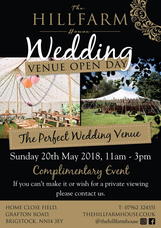Wedding Venue Open Day in Brigstock